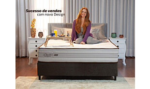 0 - Colchão Gazin Mola Duetto (Molas Ensacada) Bege 138x188x30