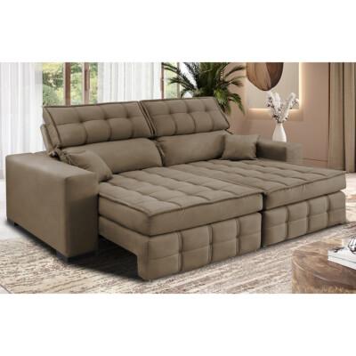 Sofa Retratil Reclinavel Ambientada